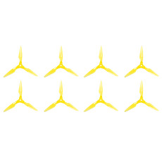 8pcs Foxeer Fold Series 5.1  Folding Propellers Smooth DIY FPV Prop Compatible POPO Shock-resistant for FPV Racing RC Drone