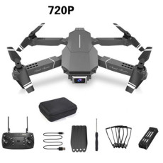 FEICHAO E98 RC Quadcopter Drone 4k Drones with Camera HD WIFI FPV One Key Return Drones RC Helicopter Altitude Hold Drone