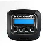SKYRC S65 65W 6A AC Balance Lipo Charger Discharger w/XT60 Connector for 2-4S Lipo LiFe LiHV Battery/6S-8S LiMH LiCD Battery