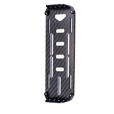 FEICHAO SCX-10 RC Crawler car Axial SCX10 Carbon Fiber Battery Mounting Plate For DIY RC model