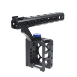 BGNing Rabbit Cage Stabilizer Protective Kit DSLR SLR Camera Cage with Top Handle Portable Tube for Sony RX0 II Protective Cover Vlog Bracket