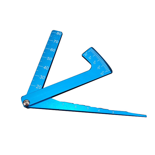 FEICHAO Aluminum alloy Camber Gauge for RC Model Buggy Car Truck vehicle Competition Standard test tools