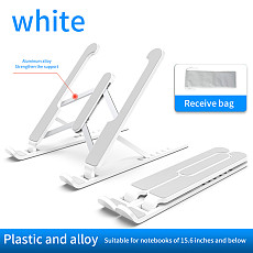 XT-XINTE Adjustable Folding Laptop Stand Non-slip Desktop Notebook Holder Laptop Cooling Stand Riser For Macbook Pro Air iPad Pro DELL HP