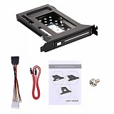XT-XINTE Single Bay 2.5 inch hard Drive Mobile Rack hard Drive Shockproof for 2.5  SATA3 6G HDD/SSD Connector Enclosure PCI Mounting