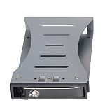 XT-XINTE Aluminum Single Bay 2.5  Case SATA HDD Internal Enclosure Mobile Rack to 3.5inch SATA SDD Support 7-15mm Drives