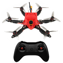 FEICHAO 175mm Six-Axis Mini Airframe FPV Carbon Fiber Frame Kit with Omni F4 Pro(V2) Flight Controller Built in OSD BEC MT1204-5000kv Motors 20A Brushless ESC 3016 3-Blade Propellers  1/1.8   1200TVL 2.1mm+ND filter FPV Camera with RadioLink TX&RX