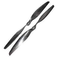 Feichao 1pair 15inch Carbon Fiber Propellers 15x7.5 CW CCW 1575 Props For RC Quadcopter DIY Hexacopter Multi Rotor Spare Parts