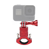 BGNing Aluminum Alloy Bicycle Clip 360° Rotating Clamp for GoPro 7 / 8 / Max Action Camera