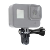 BGNing Camera Mount Bracket Extension Solid Durable Three Way Detachable Aluminum Pivot Arm for Gopro Max 8 7 6 Action Camera