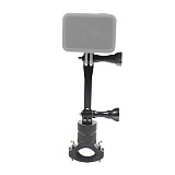 BGNing Aluminum Alloy Bicycle Clip 360° Rotating Clamp 88mm Extension Bracket for GoPro 7 / 8 / Max Action Camera