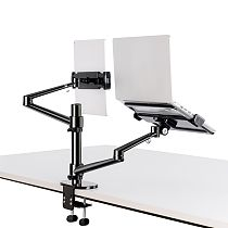 XT-XINTE Aluminum Alloy 3 in 1 Aluminum alloy Adjustable Portable Bracket For Monitor laptop Notebook Computer mobile phone tablet Stand