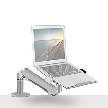 XT-XINTE Aluminum Alloy Adjustable Portable Gas Spring Desktop Bracket for 10-17 Inch Laptop Notebook Computer Stand