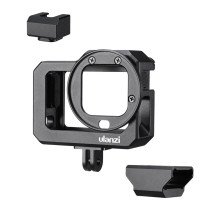 Ulanzi  Camera Vlog Selfie Bracket Expanded Camera Cage Cold Shoe Photography for Gopro8 Sports Camera