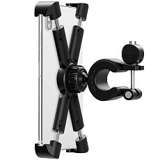 XT-XINTE Universal Motorcycle Phone Bracket Bicycle Bike Navigation Mobile Holder Suitable For 4.7-8 inches Mobile Phone