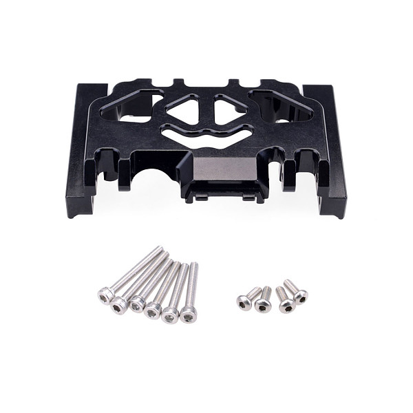 FEICHAO 1pcs Metal Chassis Armor For 1/10 Rc Crawler Car Axial Scx10 90046 90047 Jeep Wrangler