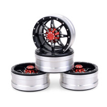 FEICHAO 4PCS/Pack 1.9inch Metal Wheel Rims Universal for 1/10 RC Crawler Trx4 Scx10 D90