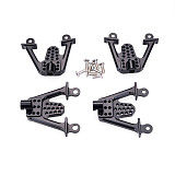 FEICHAO Newest 4pcs Aluminum Rear & Front Shock Mount Set LIFT Damper Tower Mount Hoops Shocks For 1/10 RC Axial SCX10 Car Parts