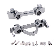 FEICHAO Bumper Bracket Bumper Bracket Spare Parts Rear Bracket Front Support Durable Replacement RC4WD D90 SCX10 For 1/10 Axial