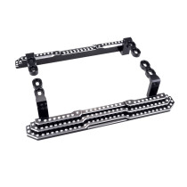 FEICHAO 2PCS TRX4 Metal Pedal Side Board for 1/10 RC Crawler Traxxas TRX-4 Trx 4 Upgrade Parts
