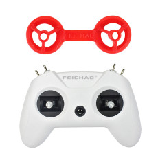 FEICHAO LiteRadio OpenTX 2.4G 8CH Radio Transmitter Remote Control with 3D printing Rocker Protector Cimbal Compatible for DIY FPV Racing Drone