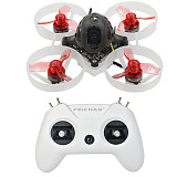 FEICHAO Mobula6 1S 65mm Brushless WhoopDrone Crazybee F4 Lite Flight Controller Built-in 5.8G VTX LiteRadio OpenTX 2.4G 8CH Radio Transmitter Remote Controller