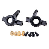 FEICHAO 2pcs Alloy Front Steering Knuckle C Block for 1/10 Axial Wraith RR10 90048 AR60 Rc Car Upgrade Parts