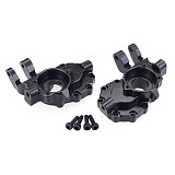 FEICHAO 1 Pair Aluminum Front Steering Cup for RC TRAXXAS TRX-4 Accessories Part of Climbing Car