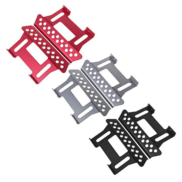 FEICHAO SCX10 2Pcs Metal Side Pedal Plate for 1/10 RC Crawler Car Axial SCX10 Upgrade Parts
