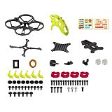 LDARC ET85D Cinewhoop 87.6mm Wheelbase Frame Kit Carbon Fiber Main Board for ET85D Racing Drone Quadcopter Helicopter