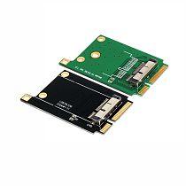 XT-XINTE MINI PCI-E Adapter Converter to Wireless Wifi Card for BCM94331CD BCM94360CD BCM94360CSAX BCM94360CS2 Module