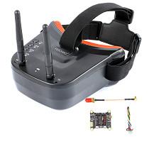 FEICHAO VTX5848 LITE 48CH 5.8G Switchable VTX Video Transmitter Module OSD Control w FPV UVC Receiver/Antenna for FPV RC Drone