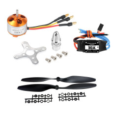FEICHAO Simonk 30A ESC with A2212 1000kv 2200kv Motor Plastic Propeller for DIY RC Aircraft Quadcopter Hexacopter Multirotor