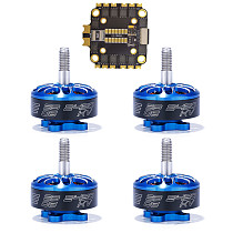 FEICHAO 45A BLHeli-S 2-6S 4in1 Brushless ESC with 4PCS 2306-2450kv/2306-1700kv Motor for RC Quadcopter FPV Racing Drone