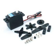 JX PDI-4503HB Plastic Gear 120°330Hz Digital Standard Large Torque Servo For Helicopter Drone Tank Car Robot Accessories