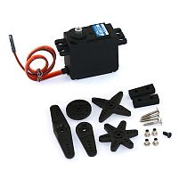 JX 13KG 15KG Large Torque Metal Standard Steering Gear servo For RC Helicopter Drone Robot Tank Car Parts