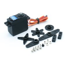 JX PS-5509MG Metal Gear 120°55g/9kg 50Hz Steering Gear Large Torque Servo For RC Helicopter Drone Robot Tank Car Parts