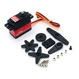 JX PDI-6215MG/15kg High Torque Metal Gear Steering Gear Servo For RC Helicopter Drone Tank Climbing Car Robot Parts