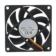 XT-XINTE DC12V 3Pin 4cm 6cm 7cm PC Fan Cooler Heatsink Exhaust CPU Cooling Fan Replacement