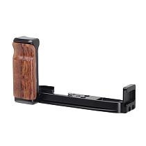 FEICHAO SLR Quick Release L shaped Plate Holder Hand Grip Tripod Bracket for Fujifilm X-T200 XT200 Camera QR Board for FUJI X-100V X100V