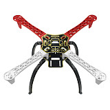QWinOut F450 Drone Frame Kit 4-Axis Airframe 450mm Quadcopter Frame Kit with Landing Skid Gear