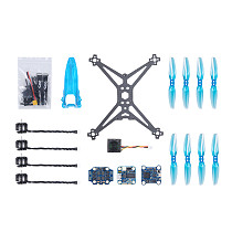 iFlight TurboBee 136RS 3 inches Airframe RC Hexacopter Drone Kit DIY Build Kit with SucceX Micro F4 F1.5 Flight Controller Caddx.us Turbo Eos V2 FPV Cam for Beginners