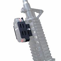 FEICHAO Sport Camera Rail Bracket Fixed Stuck Slot Suitable for Firefly Q6 4K Camera CS Air Gun Version