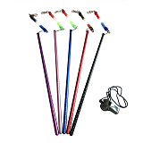 BGNing Scuba Colorful Aluminium Alloy Lobster Stick Pointer Rod With Rubber Lanyard Strap Underwater Diving Sports Accessories