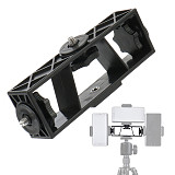 BGNing Multifunction 3in1 Mobile Phone Clip Live Photography Mount Bracket Tripod Head Support Holder Smarphone Stand Accessory
