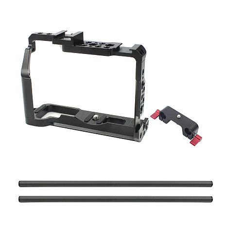 BGNing CNC Camera Cage for Fujifilm X-T3 //XT3 //XT2 //X-T2 Photography Stabilizer