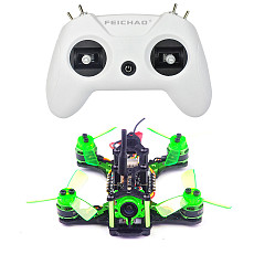 FEICHAO LiteRadio OpenTX 2.4G 8CH Radio Transmitter with Mantis85 Micro FPV Racing Drone BNF Frsky D8 Mode SBUS Receiver
