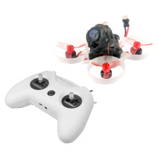 FEICHAO LiteRadio OpenTX 2.4G 8CH Radio Transmitter with Happymodel Mobula6 HD 1S 65mm Tinywhoop Drone Frsky Version 1080P HD Camera 6 in 1 Charger (HD Frsky Version + Charger)