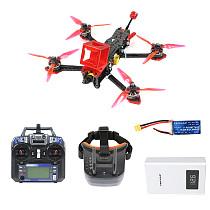 FEICHAO F4 X2 225mm Carbon Fiber FPV Racing Drone w/ Orca WiFi FPV Camera RP-SMA Antenna for Gopro 4 Session for Runcam 3 Camera