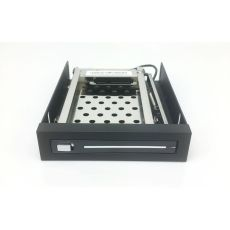 TOOLFREE MRA261 2.5inch SATA HDD/SSD Drive Case Hot Swap Tray-less Internal Mobile Rack for 3.5  Floppy Disk Bays