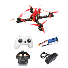 FEICHAO OWL2 Frame 3D printed antenna mount camera holder BLHeli_32 ESC 1200TVL 2.1mm+ND camera 5.8G 1W FPV Video Transmitter Flysky/Frsky D16 Receiver 5.8G 40CH Built-in 3.7V 1200mAh Battery FPV Goggles